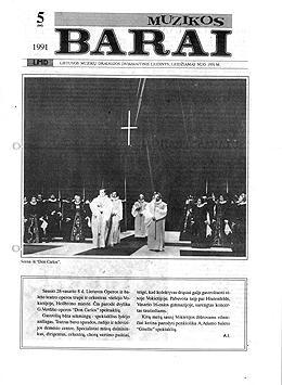 Muzikos barai, 1991, 5 (84)