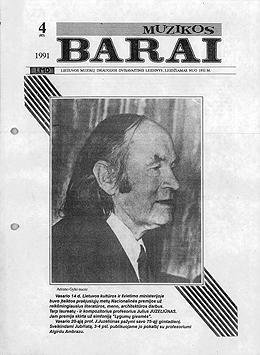 Muzikos barai, 1991, 4 (83)