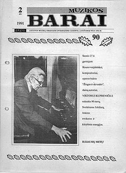 Muzikos barai, 1991, 2 (81)