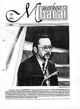 Muzikos barai, 1992, 19 (122)