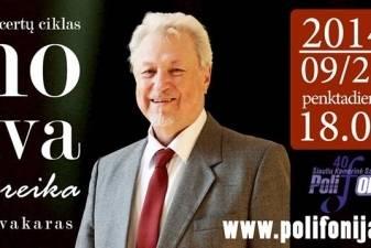 Maestro Virgilijus Noreika koncertuos gimtojo miesto publikai