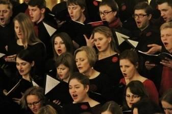Trijų VU chorų bendrame koncerte skambės lietuvių dainos