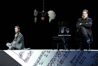 """""""Mozartas ir Salieri""""– minimalistinis operos spektaklis"""