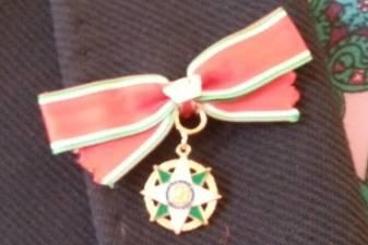 Rūta Prusevičienė apdovanota II laipsnio Italijos žvaigždės ordinu