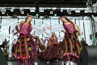 """Kultūros ministras aplankė ansamblį """"Lietuva"""""""