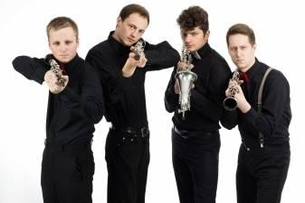 """Klarnetų kvartetas """"Bad Reed"""""""