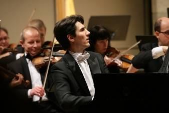 "K. Uinskas:  ""Grojimas su orkestru – lyg šokis su partneriu"""