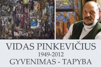 """Vido Pinkevičiaus paroda """"Gyvenimas - tapyba"""""""