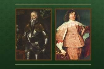 Jurgio Pergalingojo, Jonušo Radvilos ir jo žmonų portretų pristatymas Biržų pilyje