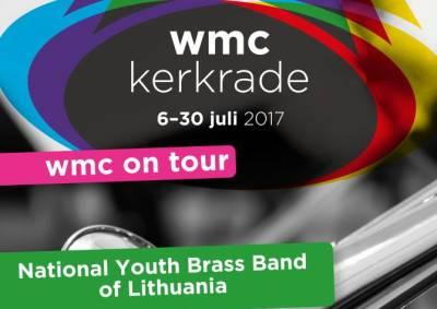 Pasauliniame Kerkradės muzikos konkurse Nyderlanduose pirmąkart plevėsavo ir Lietuvos vėliava