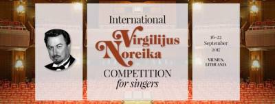 Pirmą kartą Lietuvoje – Tarptautinis Virgilijaus Noreikos dainininkų konkursas: registracija prasidėjo!