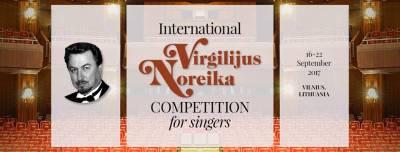 Tarptautinis Virgilijaus Noreikos dainininkų konkursas prasideda