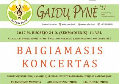 """Festivalis """"Gaidų pynė"""" kviečia pasidžiaugti muzikuojančiomis šeimomis"""