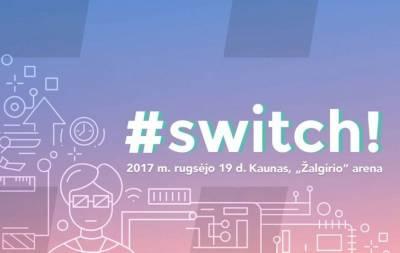 """Autorių teisių padėtis Lietuvoje bus aptarta renginyje """"Switch 2017″"""