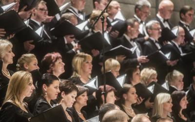 """Kauno arkikatedroje – Kauno choro atliekamas W. A. Mozarto """"Requiem"""""""