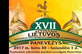 XVII Lietuvos pučiamųjų instrumentų orkestrų čempionatas pasipuoš Belgijos karalystės orkestrinės muzikos spalvomis.