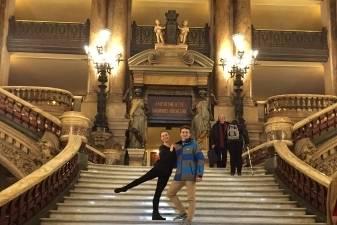 """Lietuvos baleto šokėjai stažavosi """"Grand Opera"""" teatre"""