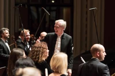 Pabaigos koncertui – Gustavo Mahlerio Pirmoji