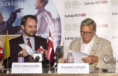 LNOBT vadovas Jonas Sakalauskas pristatė būsimas teatro gastroles Rygoje