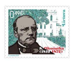 Išleidžiamas pašto ženklas, skirtas lenkų kompozitoriui Stanislovui Moniuškai