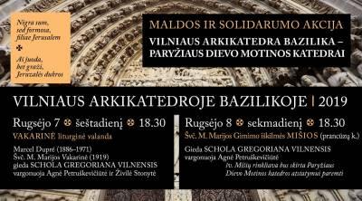 Vilniaus arkikatedra bazilika – Paryžiaus Dievo Motinos katedrai