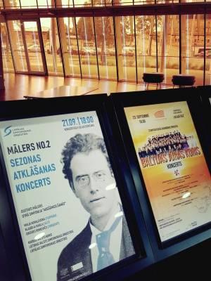 Lietuvos valstybinis simfoninis orkestras sezono pradžią skelbė ir Latvijoje