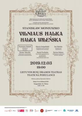 """""""Vilniaus Halka"""" – Varšuvos kamerinės operos gastrolinis spektaklis"""