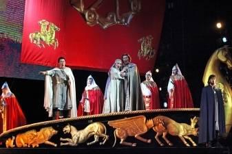 """LNOBT scenoje – opera """"Kunigaikštis Igoris"""" iš Tolimųjų Rytų"""