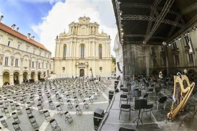 KARANTINO IŠŠŪKIAI:Vilniaus festivalio mozaika – buvimas tarp žmonių