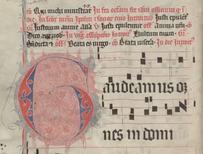 Koncerte Švč. Mergelei Marijai – giesmės iš vilnietiškojo Bernardinų rankraščio