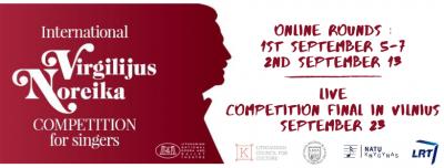 Intriga tęsiasi: antrajame Tarptautinio Virgilijaus Noreikos dainininkų konkurso ture – 34 solistai