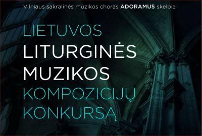 Choras Adoramus pristato liturginės muzikos konkurso komisiją