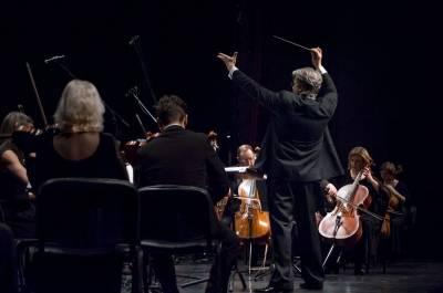 Dirigentas T. Ambrozaitis – apie paveikslus, tapomus natomis ant penklinės