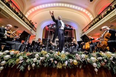 Šventinės Kalėdų ir Naujųjų metų transliacijos iš Filharmonijos skaitmeninės salės
