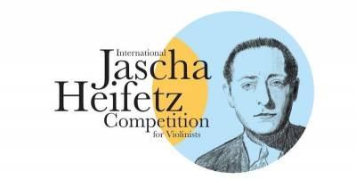 Prasideda Tarptautinis Jaschos Heifetzo smuikininkų konkursas: