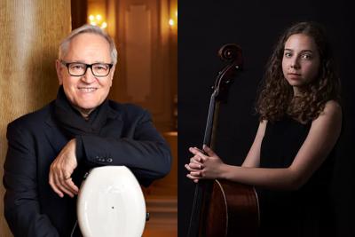 Violončelės virtuozas D. Geringas ir Klaipėdos kamerinis orkestraskvies prisiminti violončelę