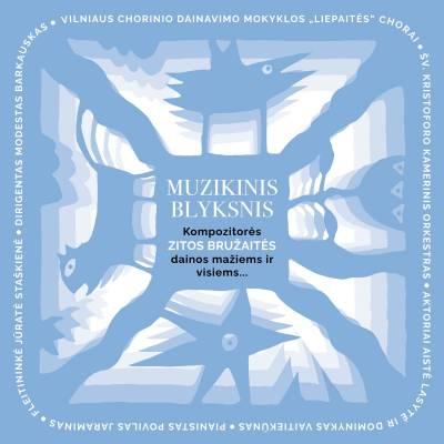 """Jungtinis """"Liepaičių"""" choras ir šv. Kristoforo orkestras pristato naują albumą """"Muzikinis blyksnis"""""""