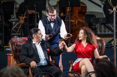 Muzikinio teatro gastrolės Palangoje: nuo poezijos iki operos