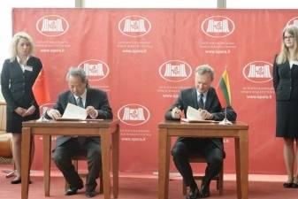 LNOBT pasirašė bendradarbiavimo sutartį su Kinijos teatrų tinklu