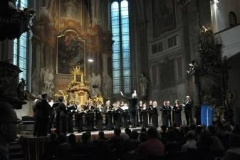 Lietuviškos muzikos sąskambiai Kauno valstybinio choro koncerte Prahoje