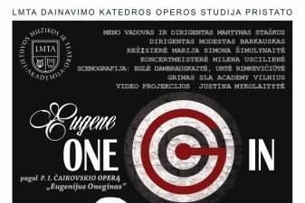 Opera ONE G IN riedlenčių parke – kultūros maratono pažiba