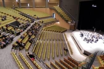 Palangos koncertų salėje karaliauja vario dūdos