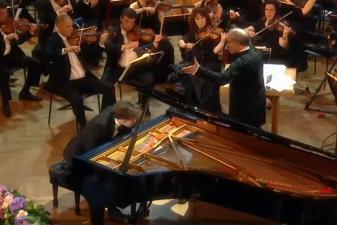 III tarptautiniame M. K. Čiurlionio muzikos festivalyje – Lukas Geniušas