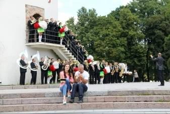 """Valstybinis pučiamųjų instrumentų orkestras """"Trimitas""""  tapo reklaminiu veidu"""