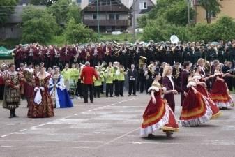 """Plungės mieste skambės didinga orkestrų muzika ir iškilias tradicijas turinti dainų šventė ,,Mano žemė"""""""