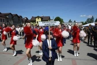 """Panevėžio raj. vario dūdų orkestras """"Aukštyn"""" iš Lenkijos į Panevėžio rajoną parvežė Auksinio Floriono prizą"""