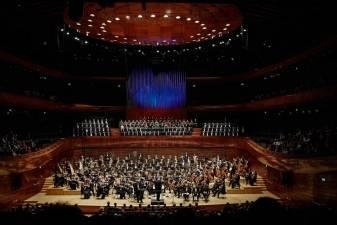 Kauno choro debiutas naujoje koncertų salėje Katovicuose