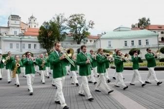 """Europos miško sodinimo pradžią paskelbs valstybinis pučiamųjų instrumentų orkestras """"Trimitas"""""""