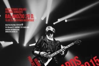 """Pažinkite kitą gitaros istoriją """"Gitaros fiestoje 2015"""""""