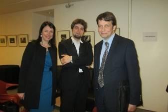 Paryžiaus Luvro muziejuje – pianisto Luko Geniušo koncertas